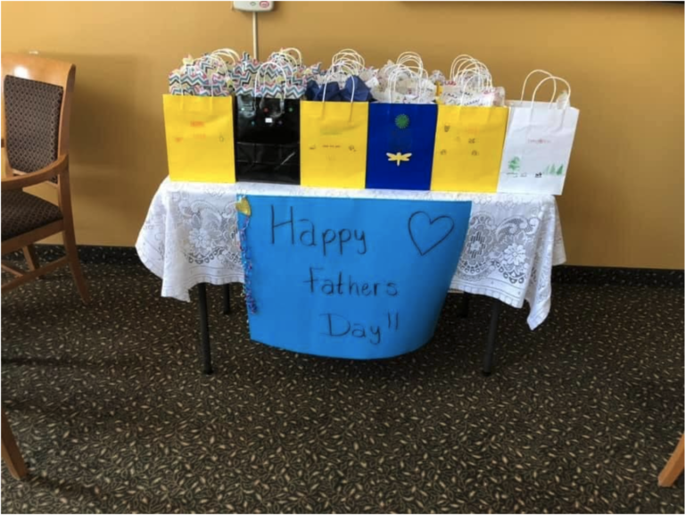 Last weekend, our communities celebrated Father's Day. It was a little different then our past celebrations but our care partners are getting quite creative with how we honour our residents during these times.